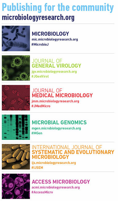 List of Microbiology Society journals