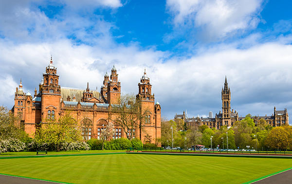 Kelvingrove Museum and Glasgow University