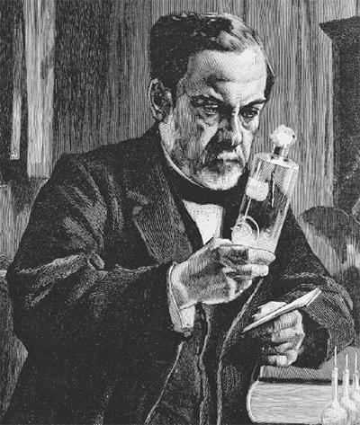 Louis Pasteur illustration