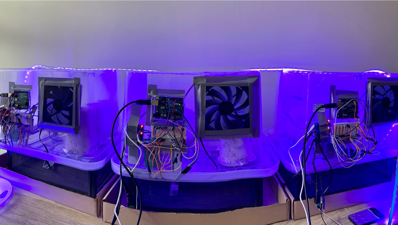 The robotic growth chambers